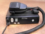 Радиостанция Рация Motorola CM-140 (136-174 Мгц.)для такси б/у (25 Вт)